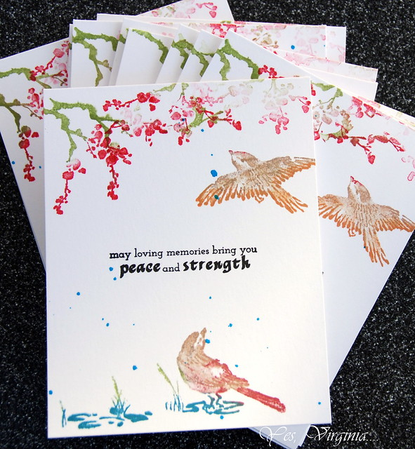 set of sympathy cards