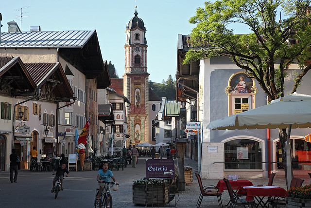 Main street, Mittenwald