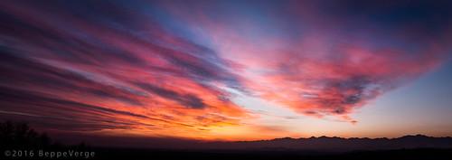 sunset tramonto vigna vigneti gattinara torredellecastelle beppeverge