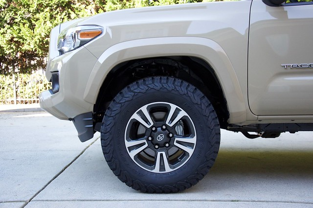 Tire And Wheel Fitment Guide Page 5 Tacoma World