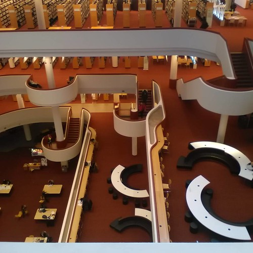 Curves of the Reference Library, 3 #toronto #library #architecture #torontoreferencelibrary