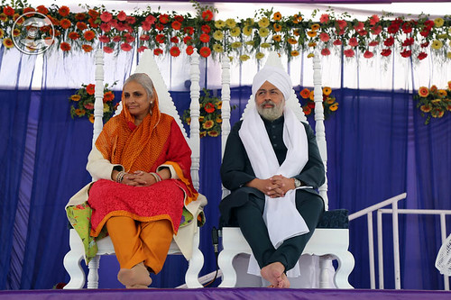 Blessings from the dais