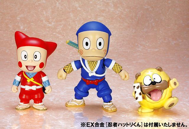 EX合金PLUS+ 《忍者哈特利》哈特利新藏&獅子丸