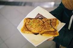 pumpkin taiyaki