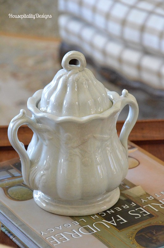 Ironstone Sugar Bowl - Housepitality Designs