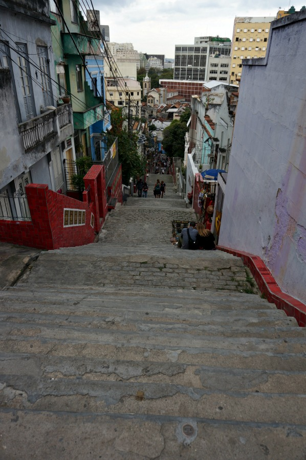 Selaron Steps from Above