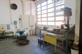 Laboratório de Fundição e Areias