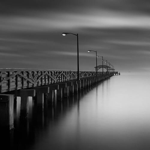longexposure bw digital landscapes tampabay florida piers fineart 2015 ballastpoint leebigstopper afsnikkor50mmf18g jaspcphotography nikond750
