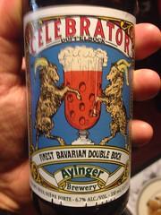 Beersperiment: Ayinger Brewery Celebrator Doppelbock (Germany) @halyma: 3* me: 4*