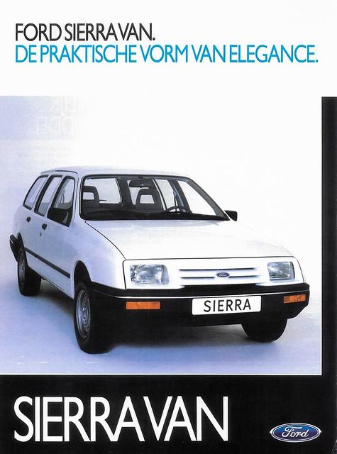 1984 Ford Sierra Van (NL) S1