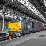 Class 37884 Europhoenix working Rail Operations Group at Preston Station 12.02.2016 RetroPhotoShoot