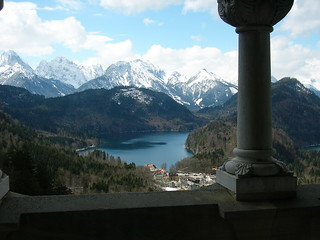Brian Front - View from Neuschwanstein Castle - Germany
