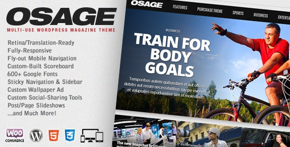 Osage v1.15 - Multi-Use WordPress Magazine Theme