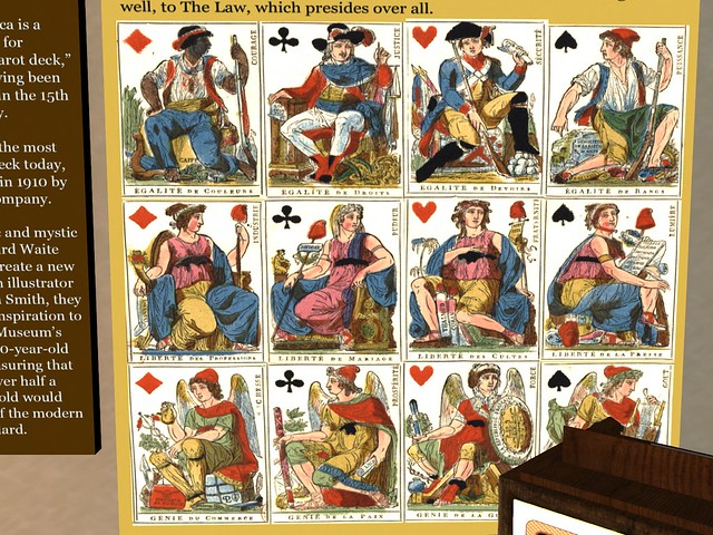 Rocca Sorrentina - Tarot History Exhibit  - in the Cards