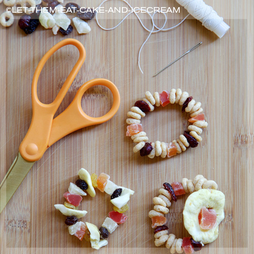Healthy edible candy bracelets