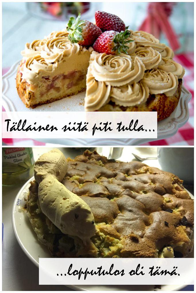 Pilalle mennyt kakku