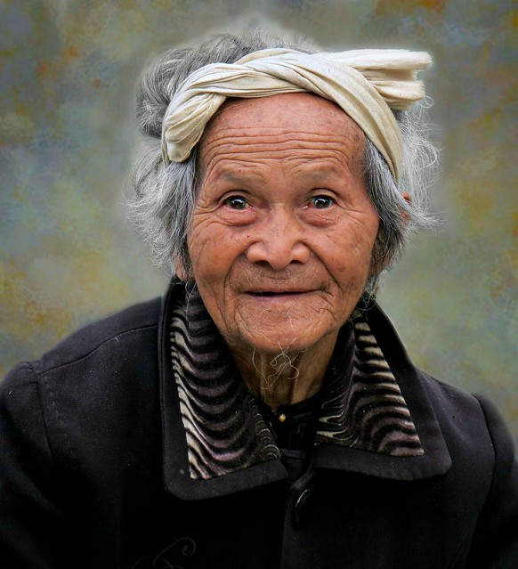 Old Miao villager
