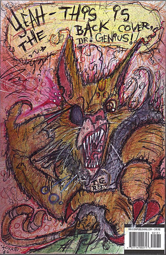 "IDW :: TEENAGE MUTANT NINJA TURTLES #50 // Cover RE Hero Initiative B - ""OLD HOB'S Back"" by tOkKa (( 2016 )) by tOkKa"
