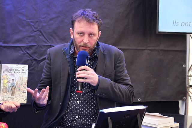 Vincent Cuvellier - Festival Le Livre à Metz
