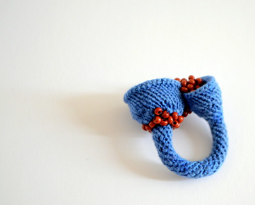Crochet Ring - Desert lake