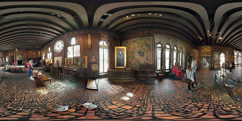 From My Flickr Photosphere Of The Gothic Room At The Isabella Stewart Gardner Museum Andy