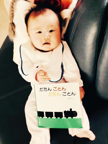 生後4か月 赤ちゃん マホさん