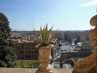 Blick aus den Vatikanischen Museen