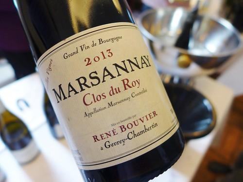 Rene Bouvier Marsannay Clos Du Roy