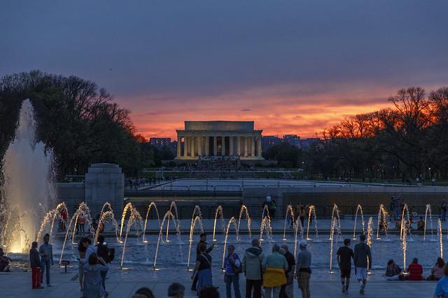 Washington DC - Sunset from Flickr via Wylio