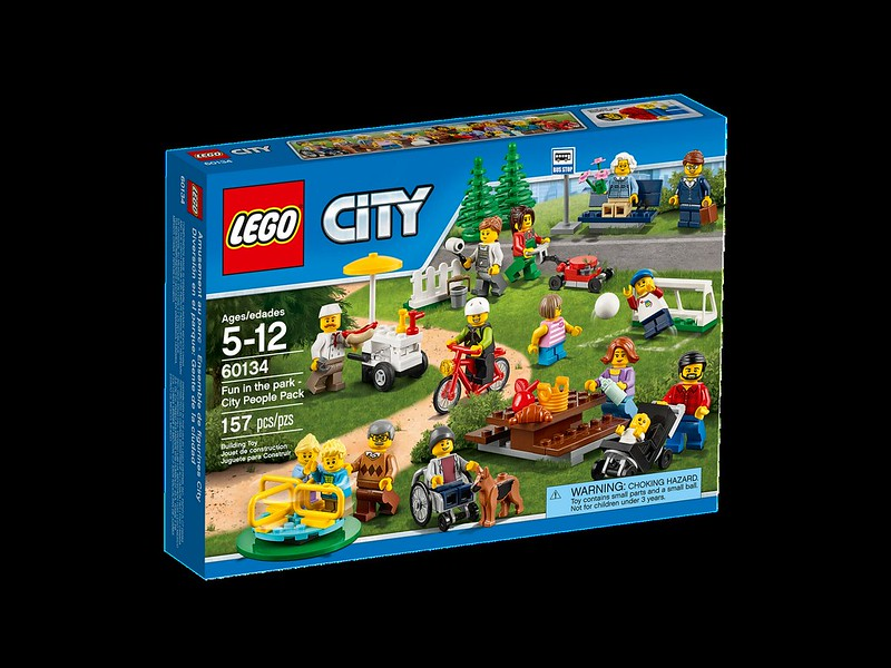 LEGO City Set 2016: LEGO City Fun in the Park - City People Pack (60134)