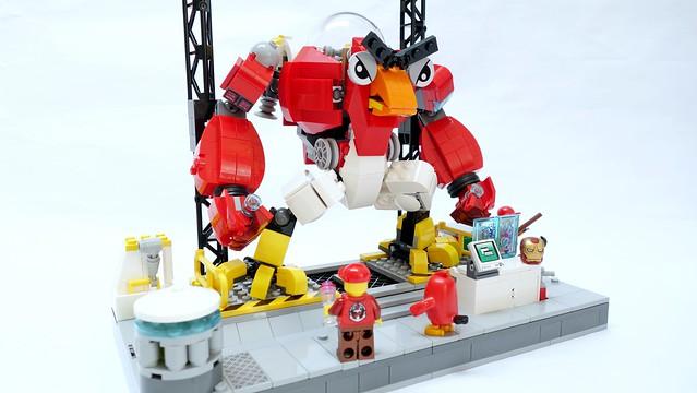 Robot LEGO Angry Birds