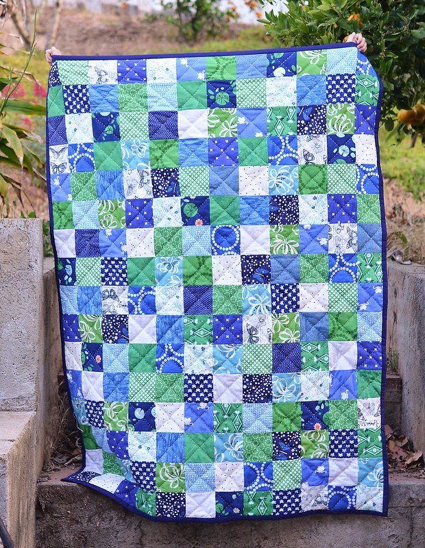 birthday quilt for Harper