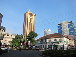 Image of  Clock Tower  near  Dar es Salaam. tanzania daressalaam tza タンザニア