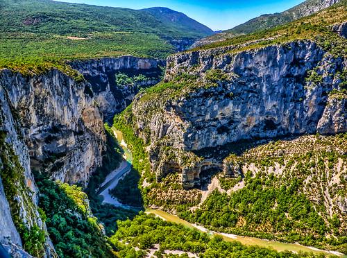 france river canyon gorge gorges verdon alpesdehauteprovence verdongorge grandcanyondeverdon