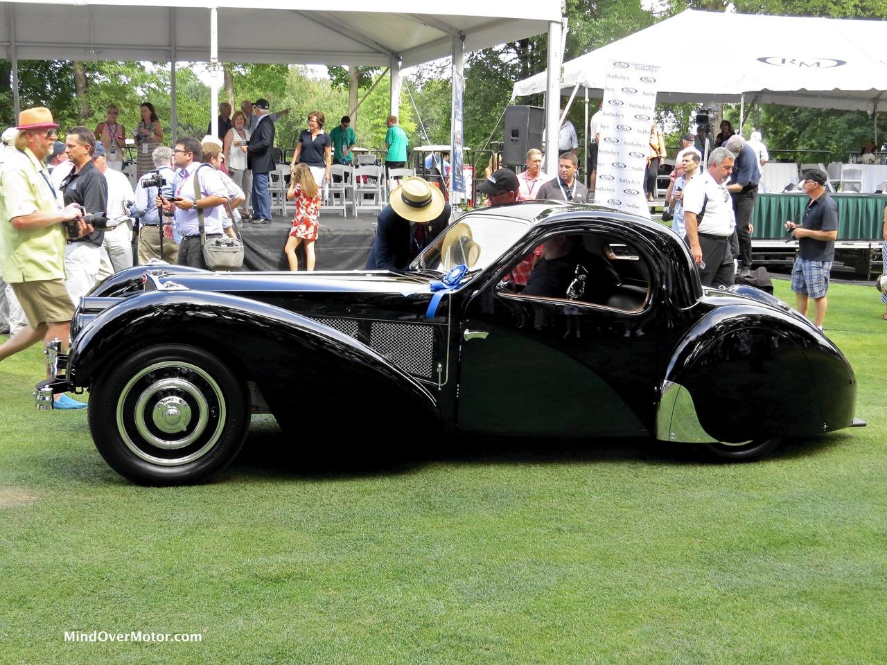 1937 Bugatti Type 57SC Profile