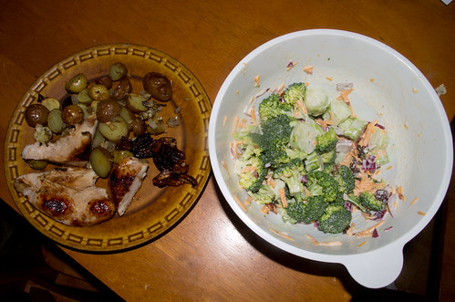 Pecan-Maple Chicken meal