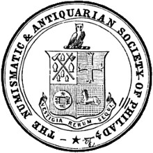 Numismatic and Antiquarian Society of Philadelphia logo