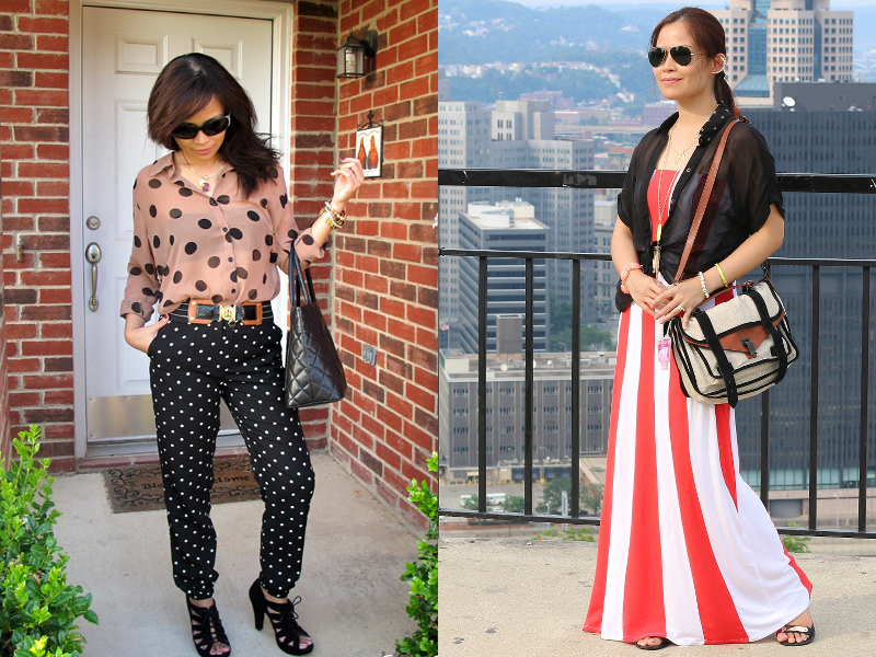 bold-polka-dots-stripes-outfit