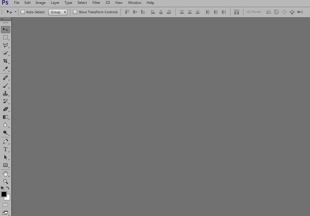 Перевод панелей программы Photoshop