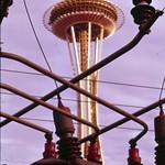 Image de Space Needle près de City of Seattle. seattle spaceneedle 1960s seattlecenter seattlemunicipalarchives