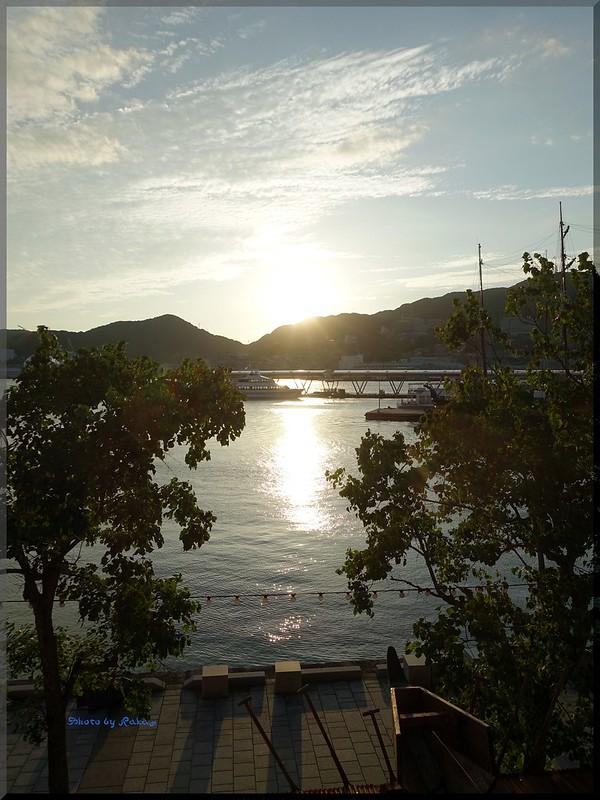 Photo:2015-09-06_T@ka.'s Life Log Book_出島ワーフからの長崎港 夕陽の絶景【長崎】【出島】_01 By:logtaka