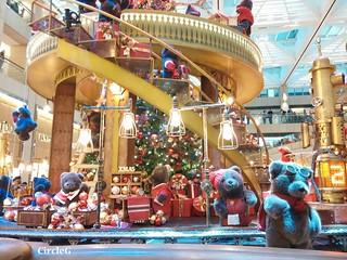 中環 置地廣場 central hongkong 熊 2015 CIRCLEG 聖誕裝飾 (11)