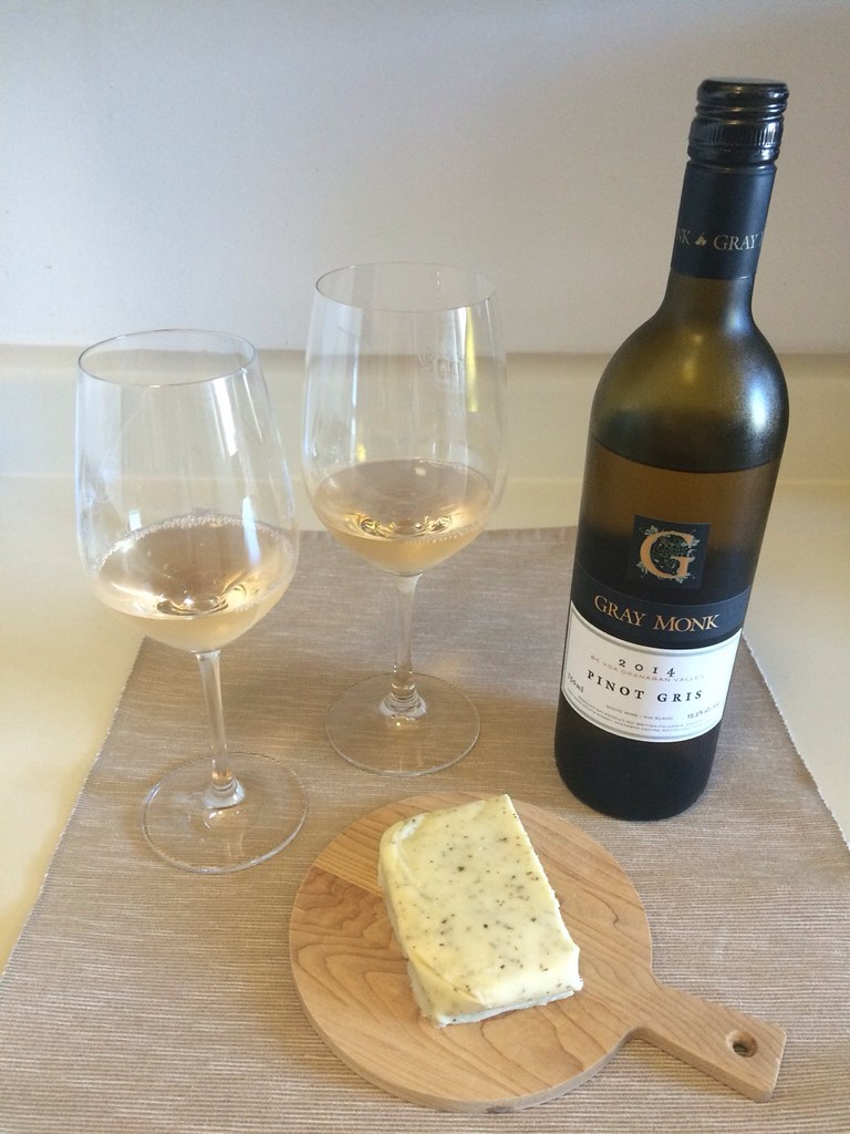 Pinot Gris and Pesto Jack Cheese 1