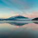 Lake Yamanaka morning view by shinichiro*