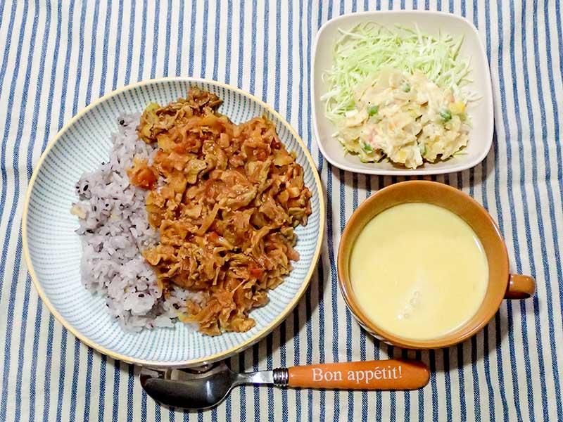 2016年1月25日の晩ご飯