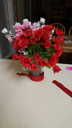 IC 2 flowers - door bouquet
