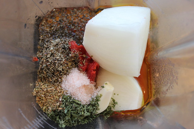 Place all ingredients in your Vitamix Container