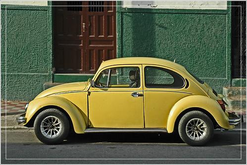 Yellow Volkswagen