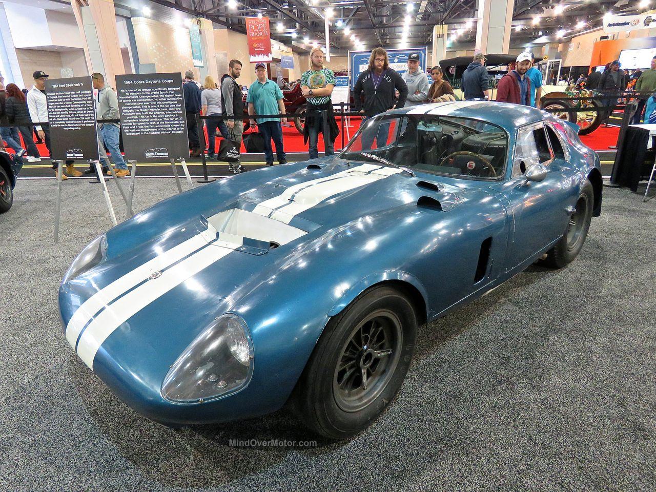 Philly Auto Show 2016 Shelby Cobra Daytona Coupe