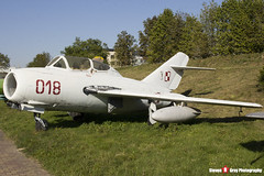 018 - 1A06018 - Polish Air Force - PZL-Mielec SBLim-2M MiG-15UTI - Polish Aviation Musuem - Krakow, Poland - 151010 - Steven Gray - IMG_0123